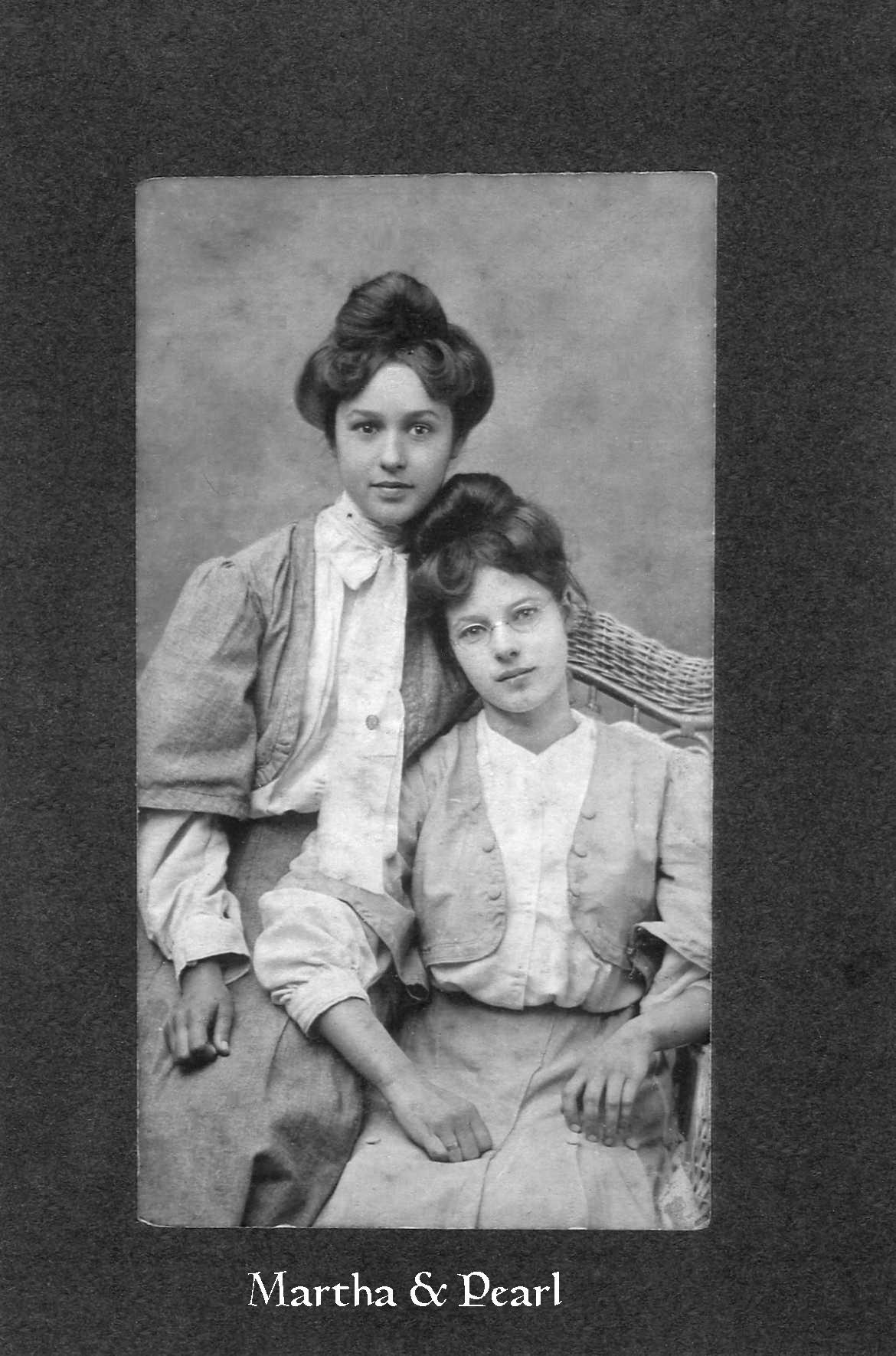 Martha and Pearl Shelton